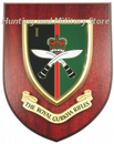 1st Bn Royal Gurkha Rifles Regimental Military Wall Plaque